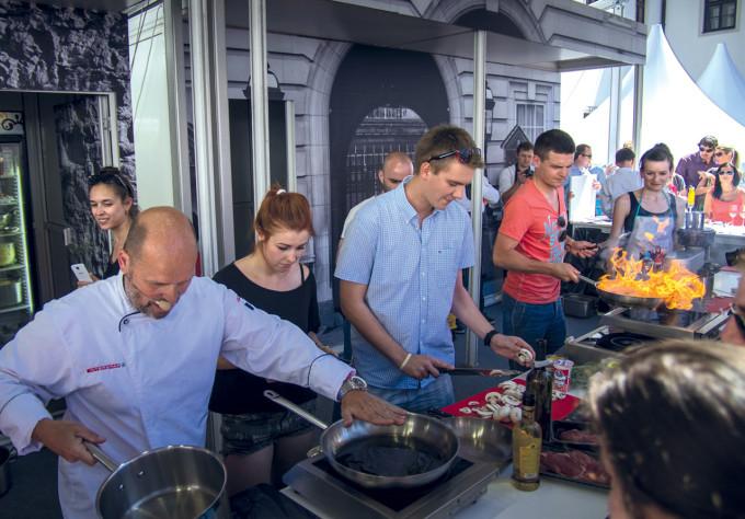 Ústřice, humři i domácí těstoviny : Štemberk Food Festival 2014