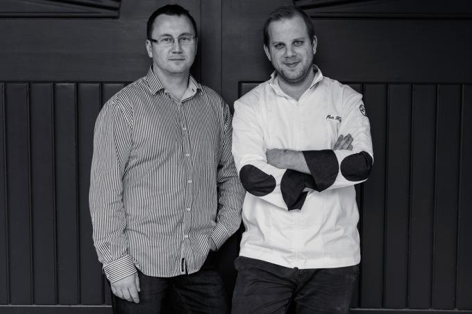David Burian a Petr Hajný