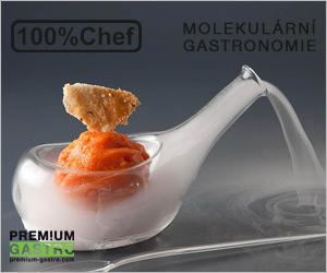 100% Chef - molekulární gastronomie