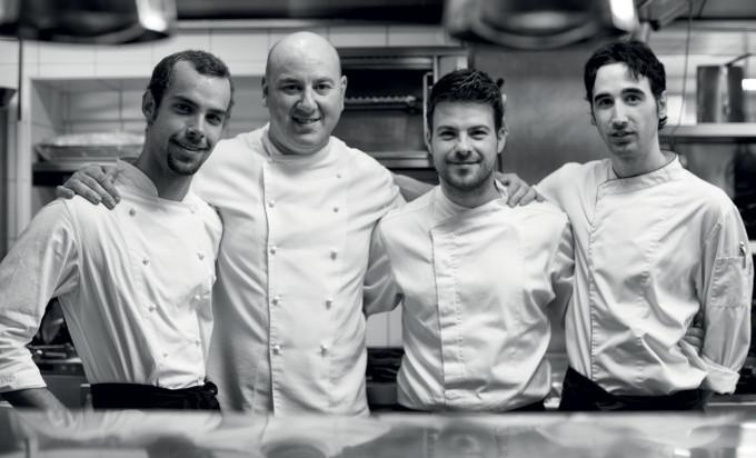 Kuchařský tým restaurace Es Moli d'en Bou